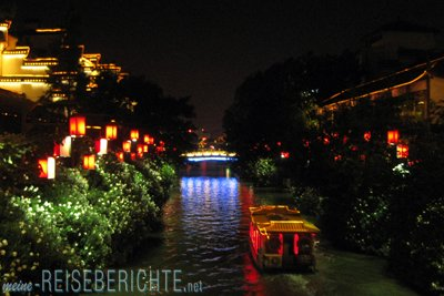 Reisebericht Nanjing China Altstadt Schifffahrt