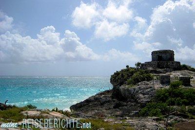 Reisebericht Mexiko Urlaub Tulum Maya Ruine