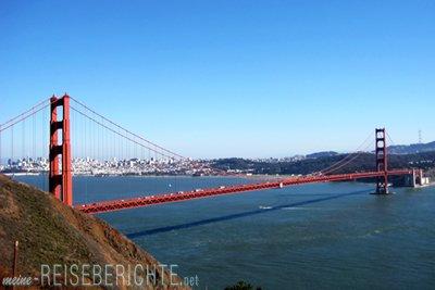 Städtereise USA San Francisco Kalifornien Golden Gate Bridge