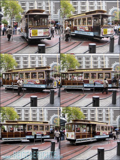 Städtereise USA Kalifornien San Francisco Cablecar