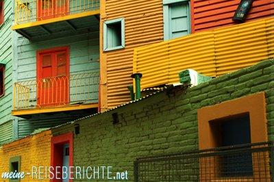 Argentinien Reisebericht Städtereise Buenos Aires la Boca