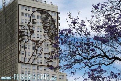 Argentinien Reisebericht Städtereise Buenos Aires Evita