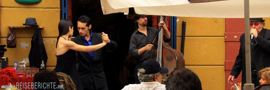 Reisebericht Buenos Aires: Tango, Tango Tango