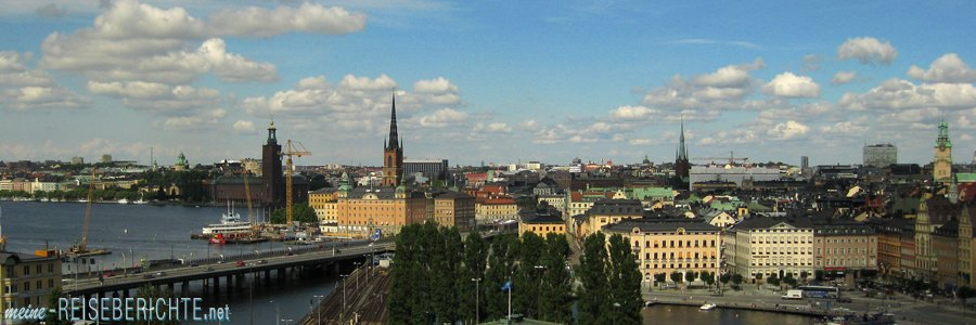 Reisebericht Städtereise Stockholm