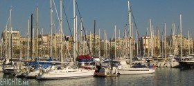 Barcelona Hafen harbour barceloneta marina